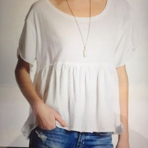 NWT Free People Odyssey Tee